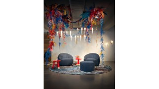 Covor rotund By Rive Roshan , Trichroic Collection - Moooi Carpets
