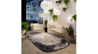 Covor poliamida 200x310 cm, Scribble Grey - Moooi Carpets