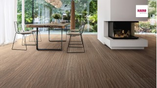 Dusumea Stejar Lava Brown Limewashed
