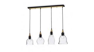 Corp de iluminat tip suspensie Gretel SP4 Ideal Lux