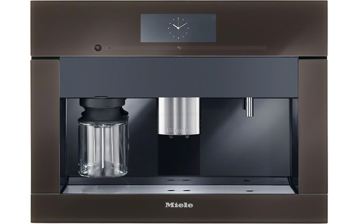 Espressor încorporat cu sistem de cafea boabe - aparat multifuncțional Miele pt. cei pretențioși.