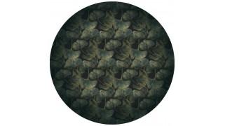 Covor rotund Ginko Leaf Green Round - Moooi Carpets
