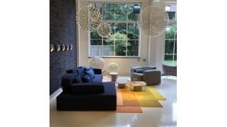 Covor 223x250 cm Blended 4 colours - Candy Orange - Moooi Carpets