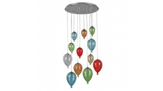 Corp de iluminat tip suspensie Clown SP12 Ideal Lux