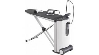 Sistem de călcare cu aburi cu afișaj și steamer pentru rezultate perfecte la călcare și confort Miele