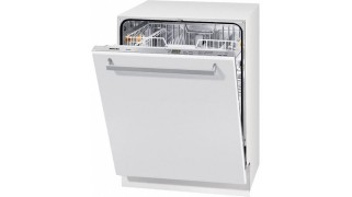 Mașina de spălat vase complet integrata cu tavă pentru tacâmuri Miele